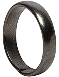 Shraddha Shree Gems 1 Pc Asli Kaale Ghode Ki Naal Ki Ring / Black Horse Shoe Iron Ring
