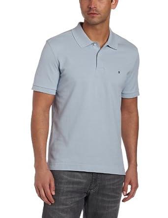 海淘维氏瑞士军刀(大牌)维氏瑞士军刀Victorinox Men's Short Sleeve Stretch男士休闲polo淡蓝$24.29