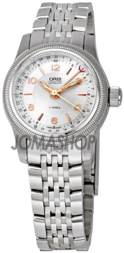 Oris Women's OR584-7626-4061MB Big Crown Pointer Date 2009 Silver Dial Watch