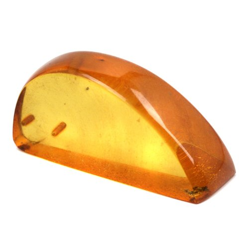 Genuine Baltic Honey Amber Polished Drilled Gemstone