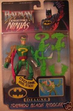 Batman Tornado Blade Riddler deluxe knight force ninjas