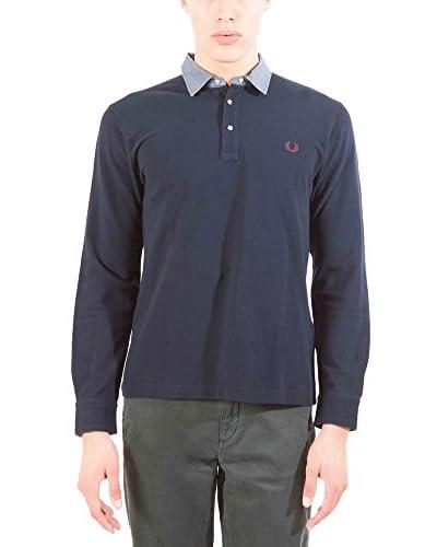 Fred Perry Poloshirt blau