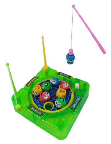 wind up toys pocket travel wind up magnetic fishing game