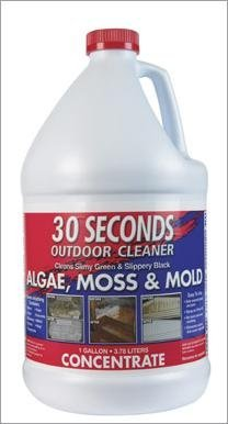 30 SECONDS OUTDOOR CLEANER Cleans algae, moss, mold,