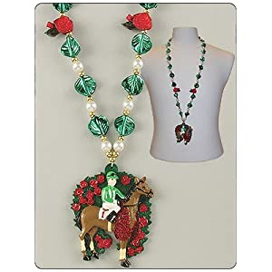 KY KENTUCKY DERBY NECKLACE JEWELRY