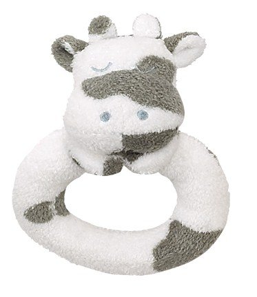 Angel Dear Ring Rattle Cow - 1