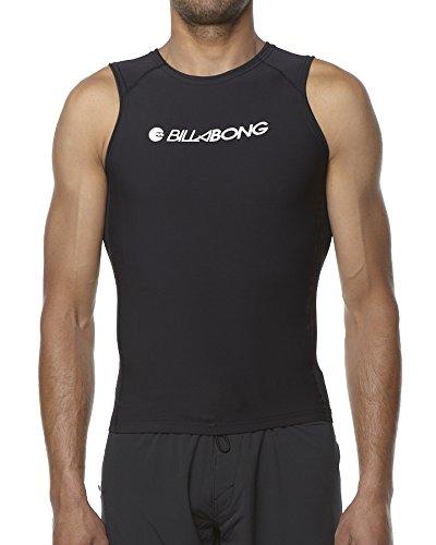 Billabong forno sleeve less Thermal Rash Vest - Black