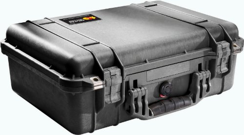 Pelican 1500 Case with Foam for Camera – Silver