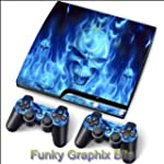 PS3 PlayStation 3 Slim Skin Stickers...