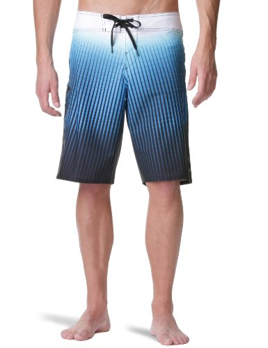O'Neill Hyperfreak Men's Shorts Blue Aop Medium