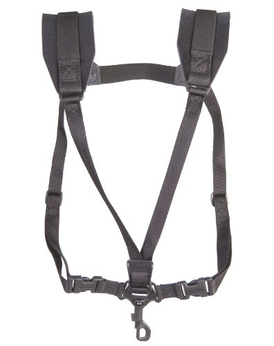 Neotech 2501162 Soft Harness, Black, Swivel Hook