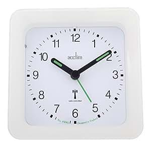 acctim 71462 avia radio controlled sensor alarm clock. Black Bedroom Furniture Sets. Home Design Ideas