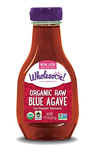 Wholesome Sweeteners Organic raw blue agave, 11.75-Ounce Bottles (Pack of 6)