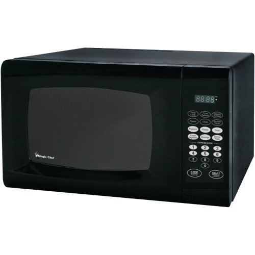 Magic Chef Mcm990B .9 Cubic-Ft 900-Watt Microwave With Digital Touch