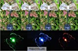 Tektrum Solar Garden Color Changing Butterfly Lights (Set of 8)