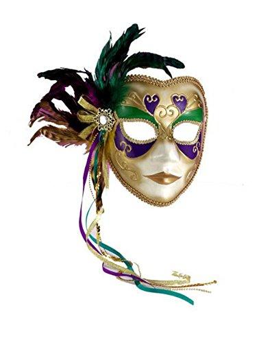 Mardi Gras Masquerade Full Venetian Female Mask