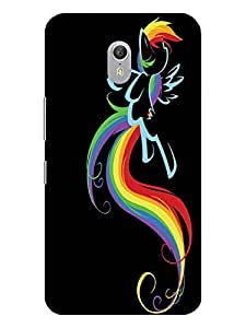 TREECASE Designer Printed Soft Silicone Back Case Cover For Lenovo ZUK Z1
