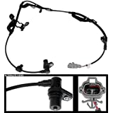 APDTY 104087 ABS Anti-Lock Brake Wheel Speed Sensor Fits Front Left 1996-2002 Toyota 4Runner 1997-2004 Toyota Tacoma (Driver-Side; Replaces 8954304010, 8954335050) (Color: Black)
