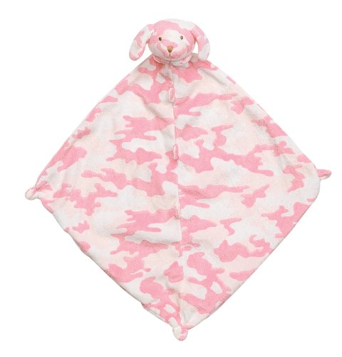 Angel Dear Blankie, Pink Camo Puppy