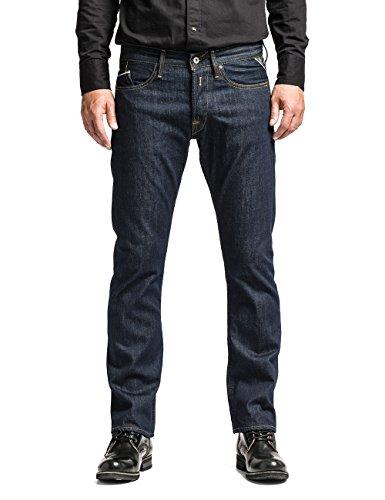 Replay Herren Straight Leg Jeanshose M983U .000.118 07D, Blau (7), W36/L34 (Herstellergröße: 36) thumbnail