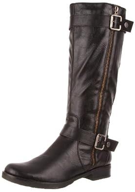Madeline Women's Satcha Knee-High Boot,Black,10 M US