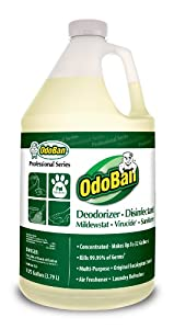 OdoBan 911062-G4 Eliminator and Disinfectant Concentrate, One Gallon