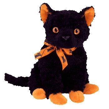 Ty Beanie Babies Fraidy - Black Cat - 1