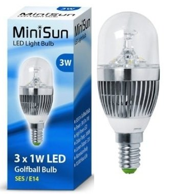 Instant On SBC B15 Low Energy Light Bulb Lamp 8x 5.5W Clear LED Candle
