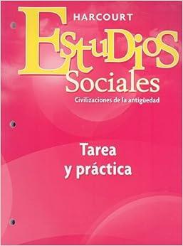 Harcourt social studies ancient civilizations homework practice book