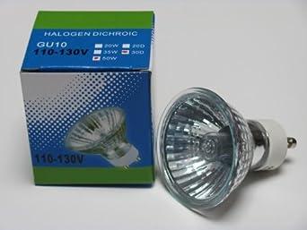 CBconcept® 12XGU1050W Halogen Light Bulb JDR GU10 120Volt 50Watt - 12 Bulbs