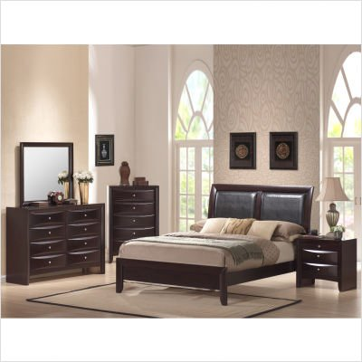 Furniture > Bedroom Furniture > Finish > Rich Merlot Finish