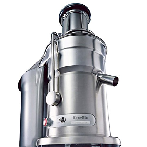 Sturdy Stainless Steel Construction Die Cast Juice Fountain Elite Juice Extractor, 1000-1500 Watts Dual-Speed Motor, Silver (Breville 800jexl Blade compare prices)