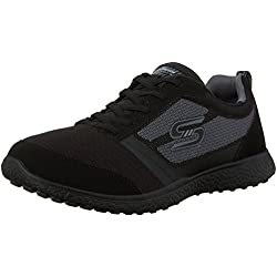 Skechers Microburst Spirited Womens Shoes - Black