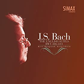 English Suite No. 1, A major, BWV 806: II Allemande