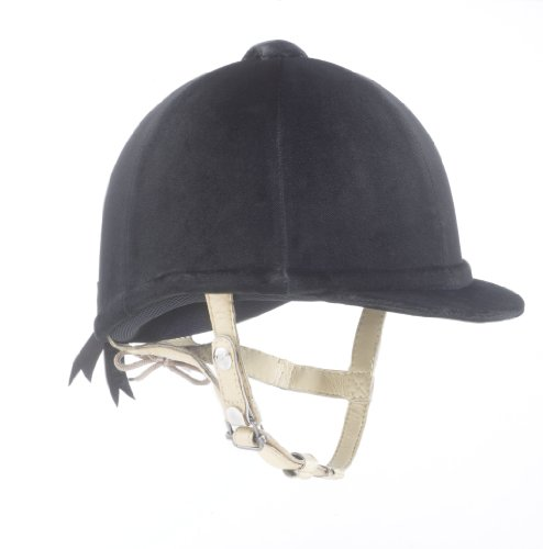 Gatehouse Hickstead Velvet Riding Hat - Black, 63/4 Inch