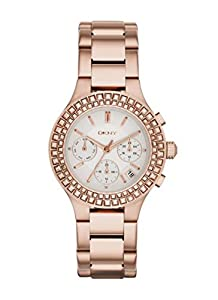 DKNY NY2261 Chronograph Rose Gold Bracelet Ladies Watch