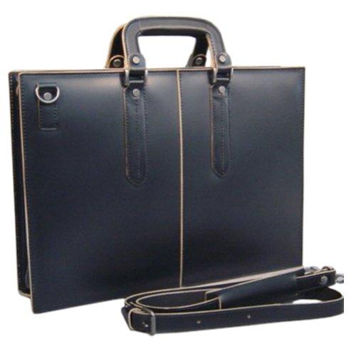 コンプレックスガーデンズ・コタン[枯淡]本革製ビジネスバッグAOL3703(ブラック)
