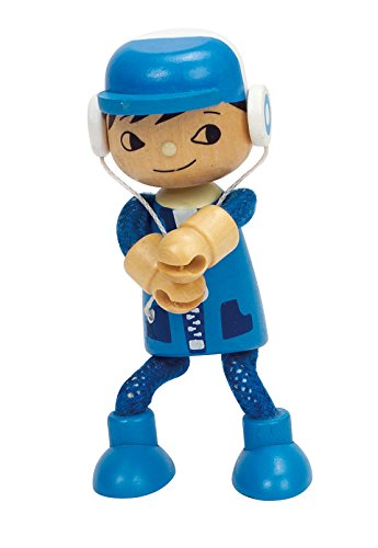 Hape Happy Family Poseable Wooden Son Play Doll
