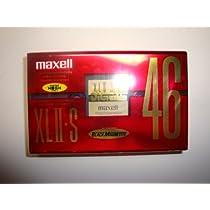 ハイポジション MAXELL XLⅡ-S 46 カセットテープ