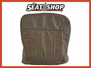 97 98 Ford F150 Lariat 60/40 Bench Grey Leather Seat Cover P1 LH bottom