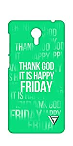 Vogueshell Happy Friday Printed Symmetry PRO Series Hard Back Case for Lenovo Zuk Z1