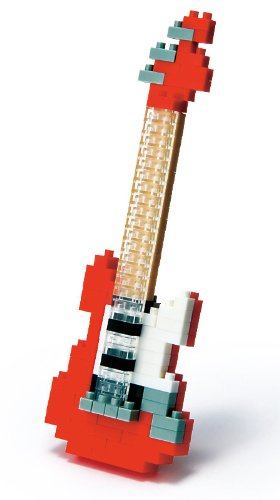 Nanoblock NBC037 Electric Guitar Red