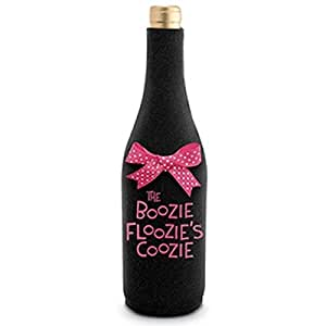 Non-skid Rubber Boozie Floozie Neoprene Wine Bottle Cooler