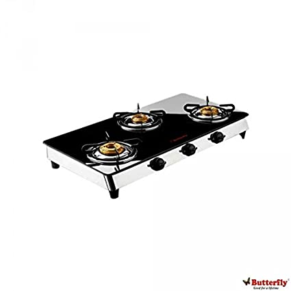 Reflection Auto Ignition Gas Cooktop (3 Burner)