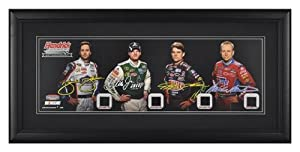 Hendrick Motorsports 25th Anniversary Panoramic with Piece of Race-Used Tires -... by Sports Memorabilia