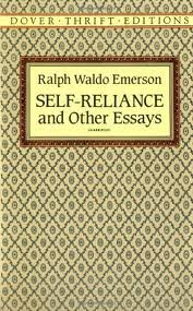 self-reliance the over-soul and other essays Self-reliance and other essays (dover thrift editions) [ralph waldo emerson] on amazoncom free shipping on qualifying offers essayist, poet, and philosopher.