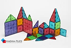 Magna-Tiles Translucent Colors (100 pieces)
