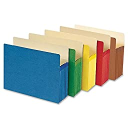 Smead 73836 Assortment Colored File Pockets (73836)