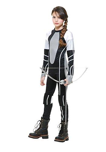 Big Girls' Survivor Jumpsuit Costume Medium (8-10)