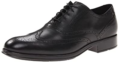 Rockport Men's Almartin Wingtip Tip Bal Oxford,Black,7 M